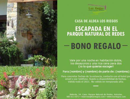 Regala Los Riegos, regala Parque Natural de Redes… ¡en cualquier momento del año!