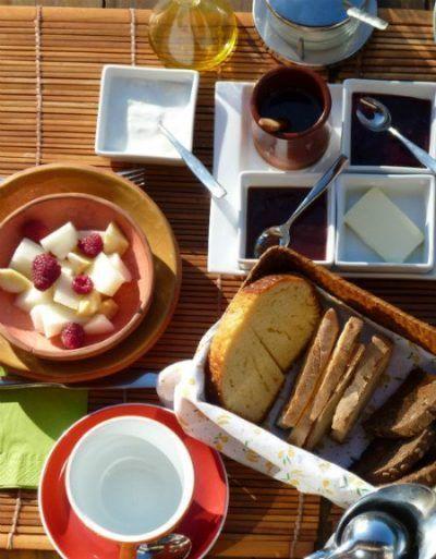 desayuno en los Riegos